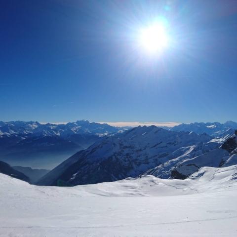#greatday @snowpark_glacier3000 #glacier3000 #frisek @glacier3000.ch